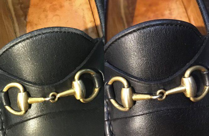 靴クリーニングのBefore/After